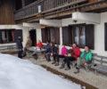 Izobraževalni dan iz zimskega sledenja divjega petelina na Pokljuki