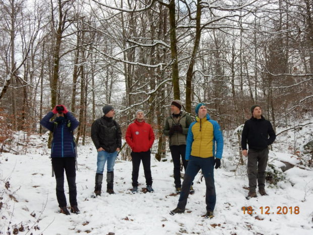 Field trip with representatives of DOPPS- Birdlife Slovenia
