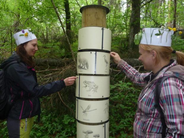 Usposabljanje iz interpretacije narave in gozdne pedagogike na Orlovi učni poti