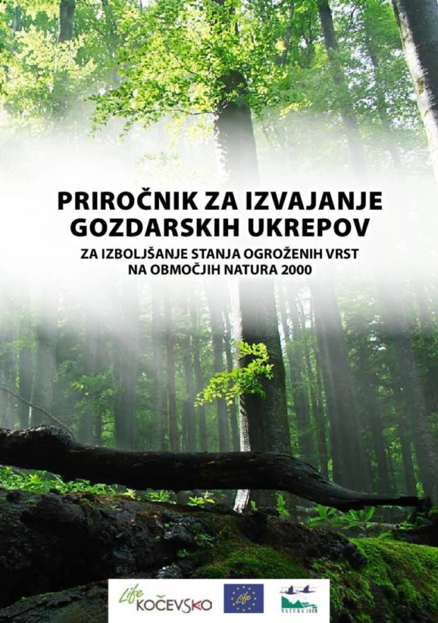 Manual for the implementation of forestry measures to improve the status of endangered species in the Natura 2000 sites,