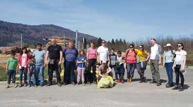 Prostovoljci združili moči v veliki čistilni akciji Očistimo Kočevsko 2018