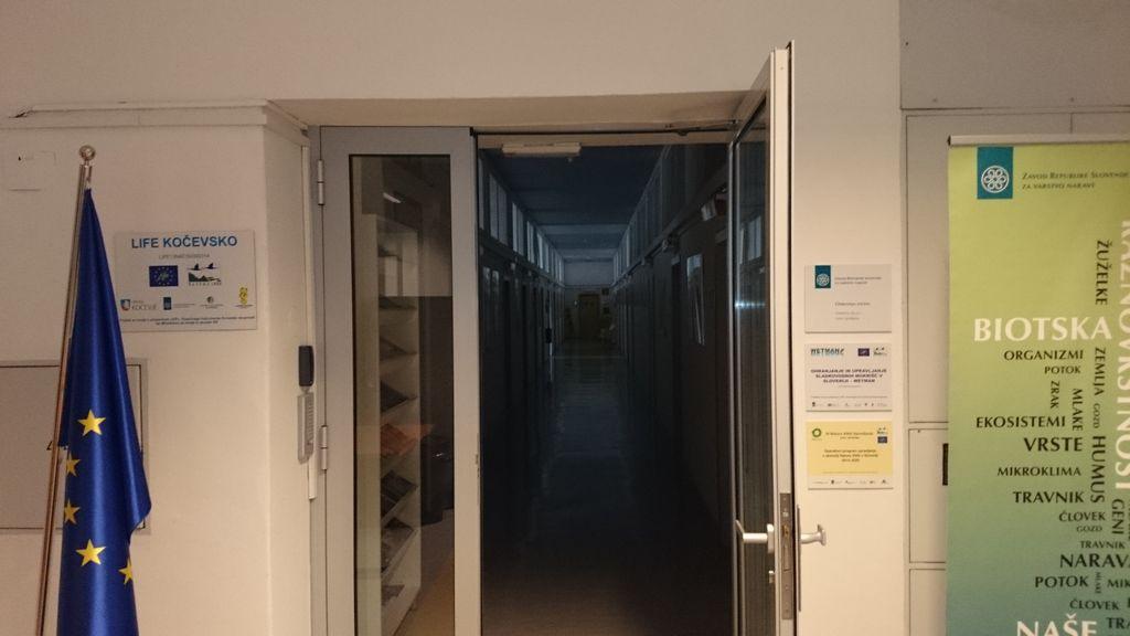 ZRSVN Osrednja enota, arhiv LIFE Kočevsko