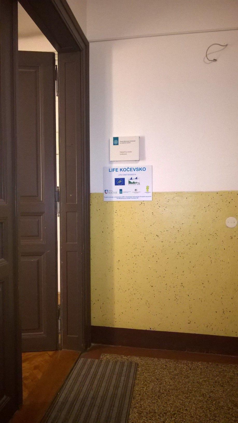 ZRSVN OE Ljubljana, arhiv LIFE Kočevsko