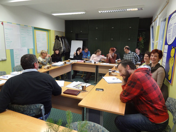 Meeting of the Project Partners in December 2014