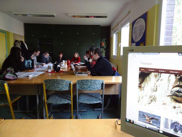 Srečanje projektnih partnerjev  v januarju 2015