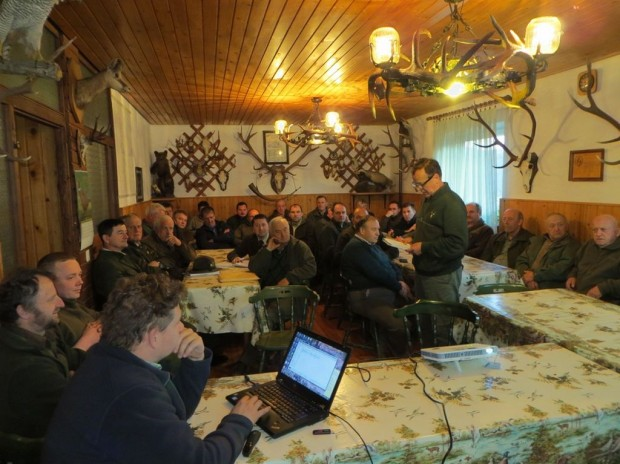 Education  of Hunters in Loški potok