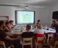 Srečanje projektnih partnerjev v juliju 2015 – prvič v Orlovi sobi
