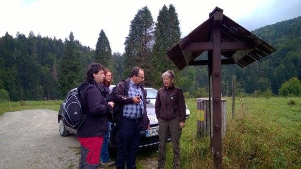 The visit of the Czech Inspectorate representatives for nature