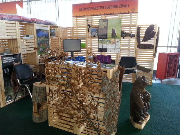 LIFE Kočevsko at the Nature and Heath fair