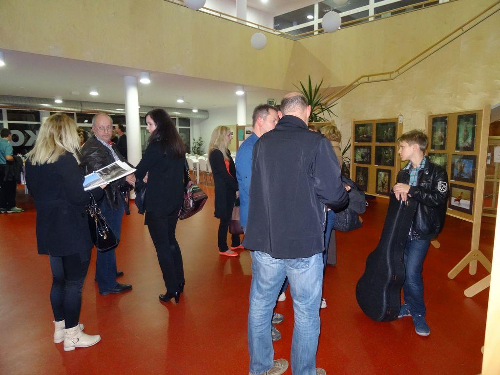 Otvoritev razstave javnega fotografskega natečaja KOČEVSKO – SOŽITJE Z NARAVO, foto: LU Kočevje