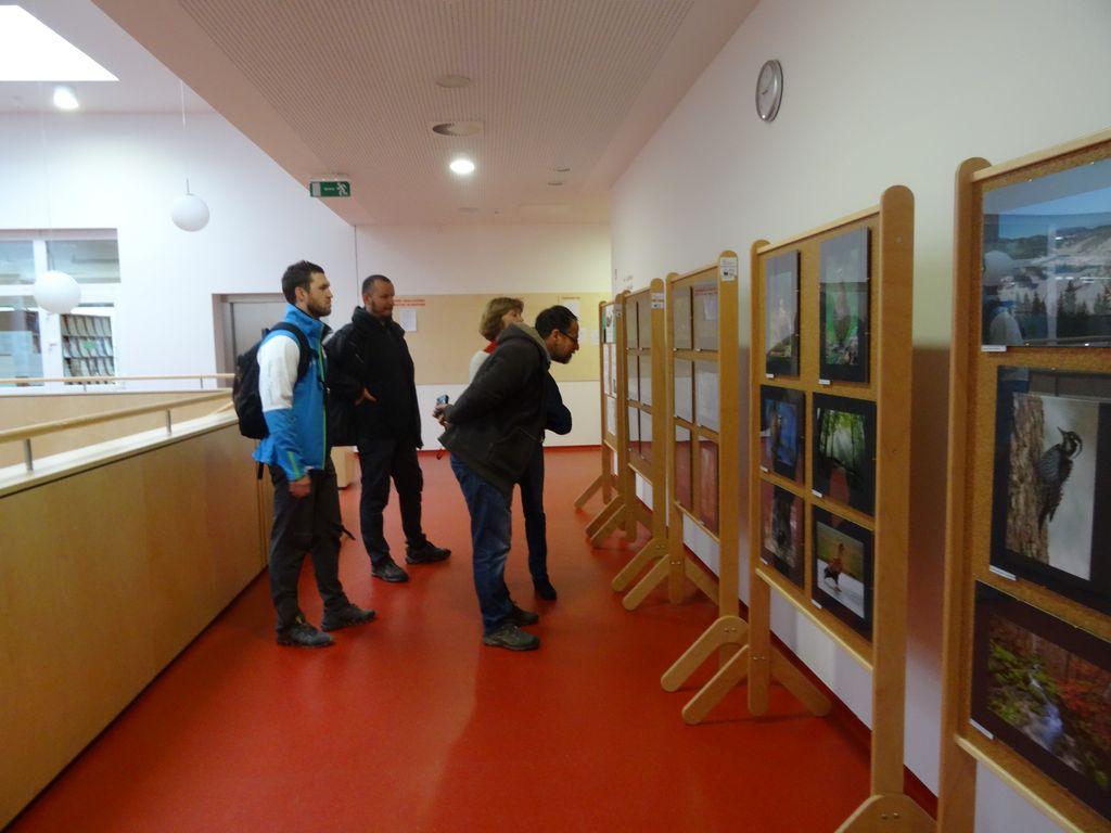 Obisk zunanjega nadzornika za Slovenijo dr. Mitje Kaligariča in ge. Julijane Lebez Lozej iz Ministrstva za okolje in prostor, foto: LU Kočevje
