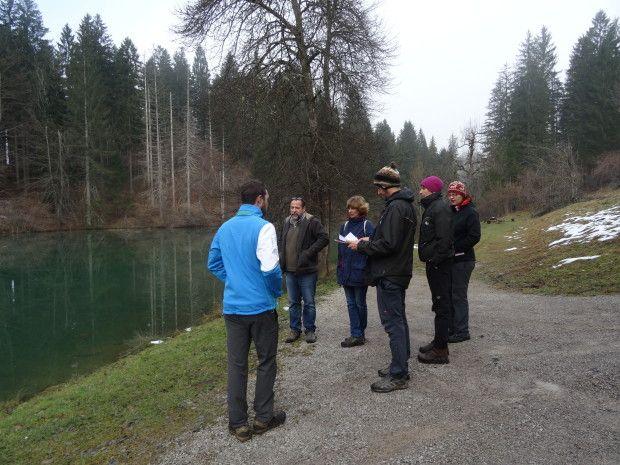 Obisk zunanjega nadzornika za Slovenijo dr. Mitje Kaligariča in ge. Julijane Lebez Lozej iz Ministrstva za okolje in prostor