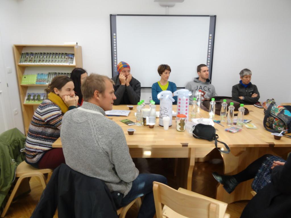 Srečanje projektnih partnerjev na temo ureditve didaktične učne poti, foto: LU Kočevje