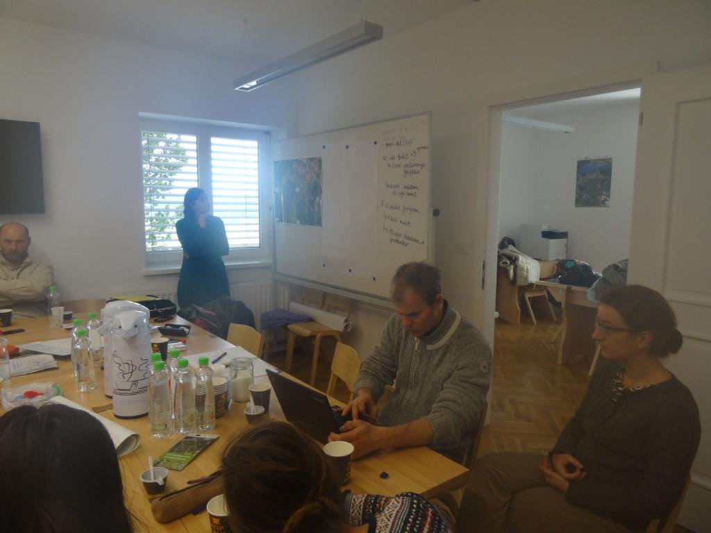 Srečanje projektnih partnerjev na temo ureditve didaktične učne poti, foto: arhiv LU Kočevje
