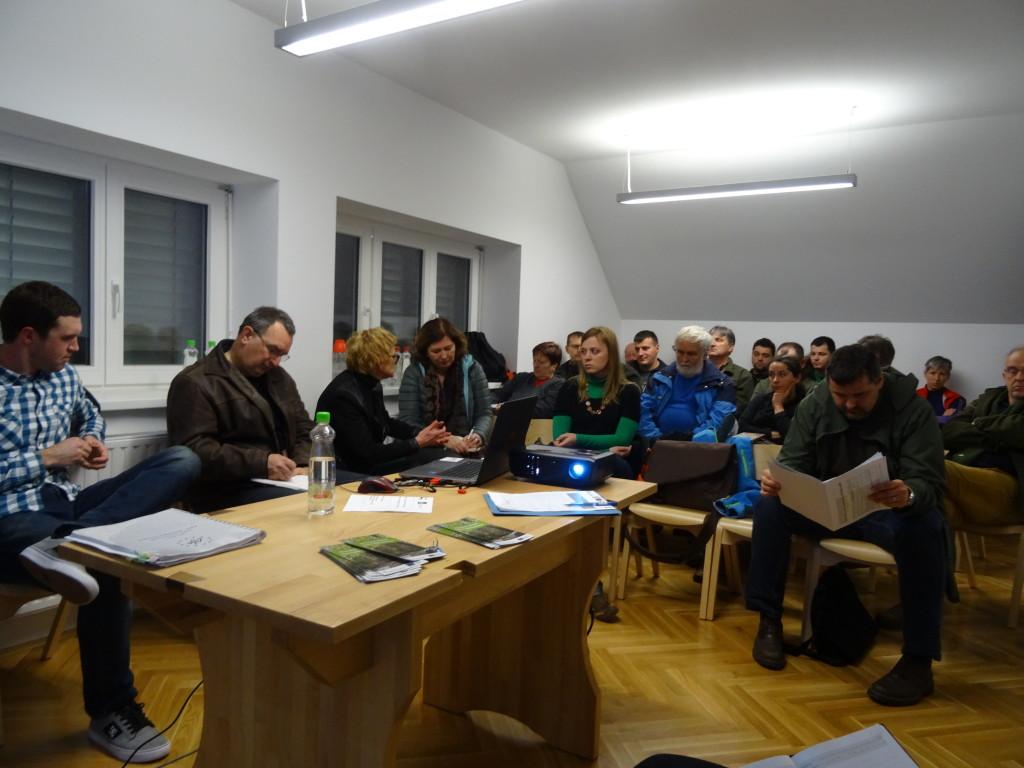 Okrogla miza »Reško jezero s Kočevsko Reko – središče aktivnosti projekta LIFE Kočevsko«, foto: LU Kočevje