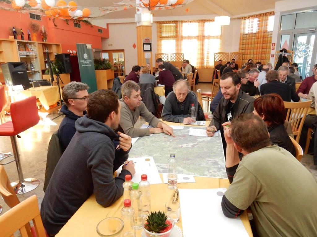 Ukrepi za izboljšanje stanja habitata tarčnih vrst - izobraževalni dan, foto: ZGS