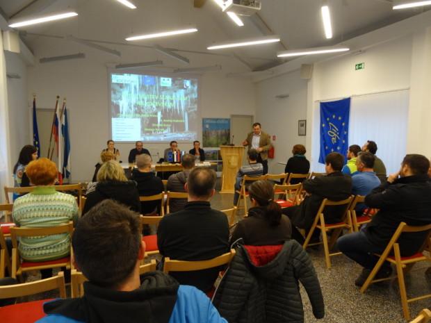 Impressions from presentation of caves in Kočevsko region
