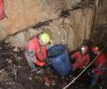 Odstranitev odpadkov iz jame Schaffeichloch v bližini Koprivnika