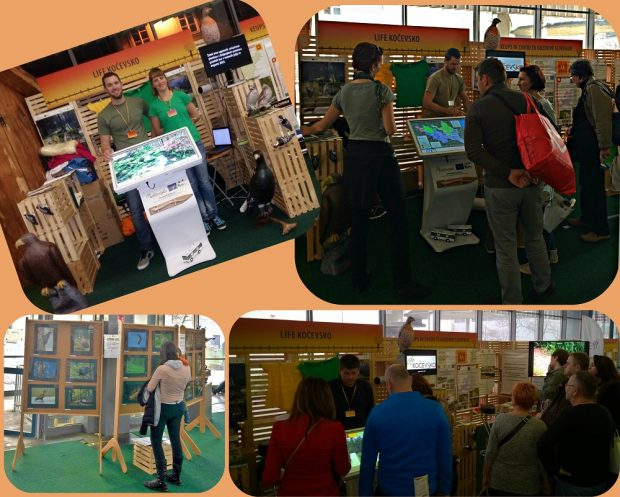 We presented the project LIFE Kočevsko at the 47th Nature-Health Fair