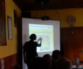 Current project activities presented to district foresters and hunters
