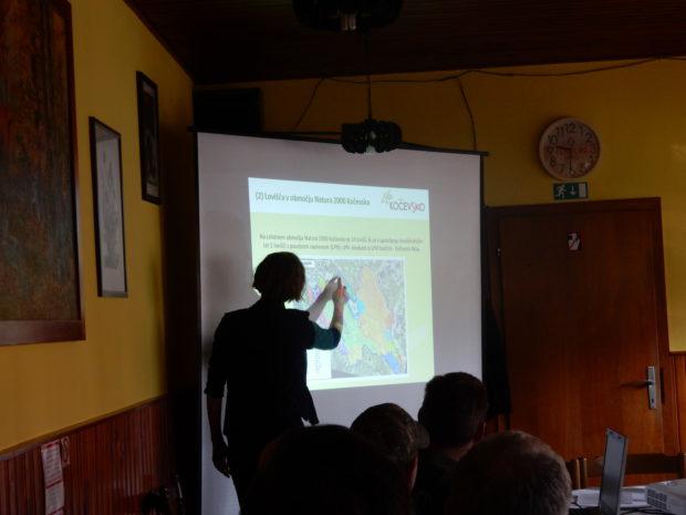 O aktualnih aktivnostih na projektu z zaposlenimi v LPN-jih na Kočevskem