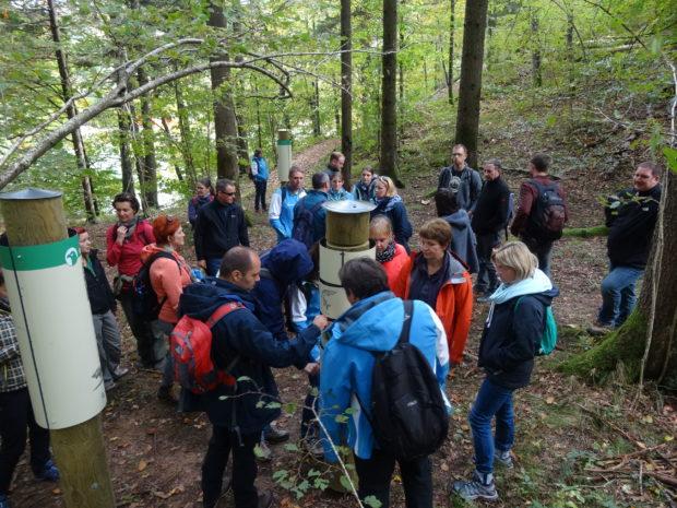 Projektne aktivnosti predstavili na letni strokovni ekskurziji Zavoda za varstvo narave – Kočevsko 2017