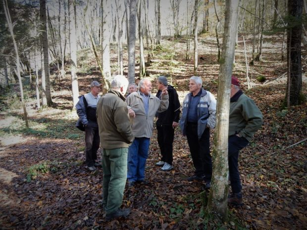 LIFE Kočevsko and forest owners discussing conservation measures