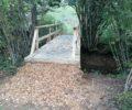 Zaključena dela na poti, ki vas bo popeljala do nove opazovalnice narave ob Reškem jezeru