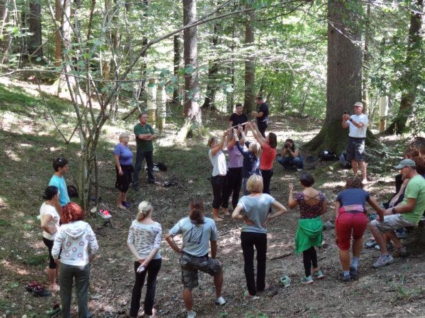 Gradiva iz gozdne pedagogike za učitelje in pedagoške delavce