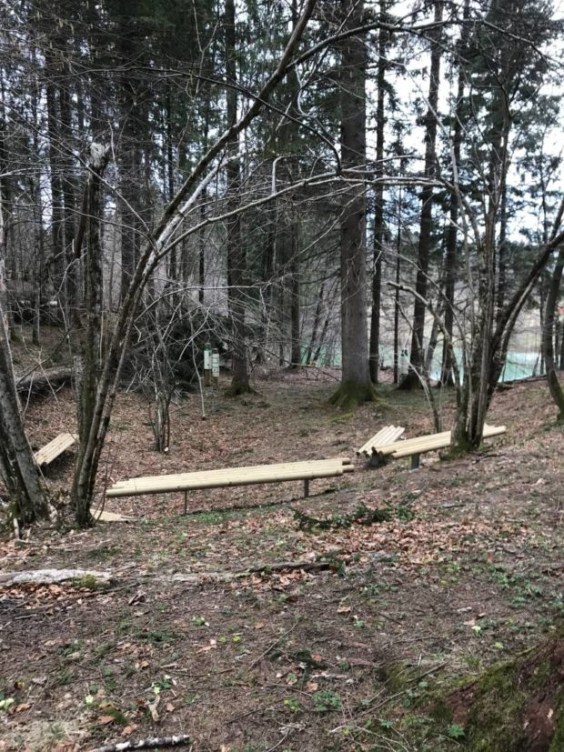 Repair work on Eagle's trail in Kočevska Reka is completed