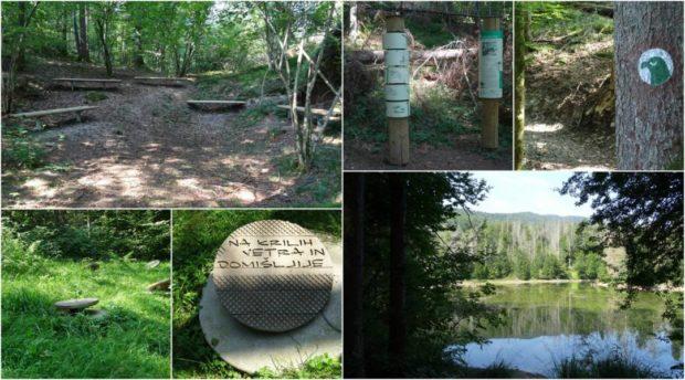 Vabilo na dogodek LIFE na Orlovi poti – otvoritev gozdne učne poti ob Reškem jezeru